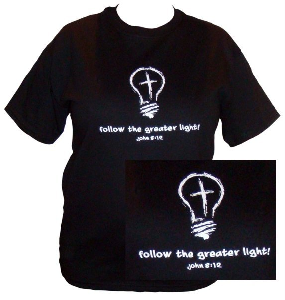 """Follow the Greater Light"" Tee Shirt"